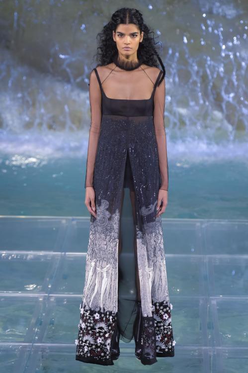 Fendi Fashion show, Couture collection Fall Winter 2016 in Rome